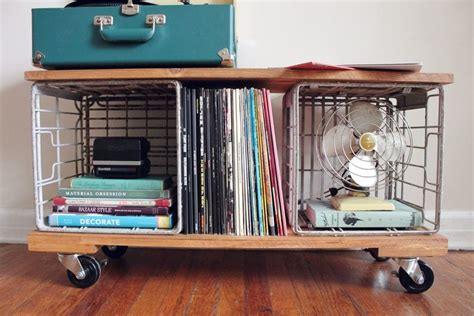 diy record player cabinet 30 renter friendly diy ideas a beautiful mess