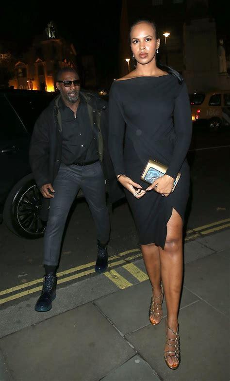 Idris Elba and his gorgeous fiancee, Sabrina Dhowre, step ...