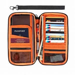 travel document passport holder rfid blocking wallet debit With rfid travel document holder