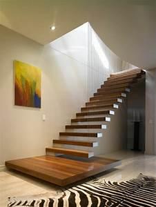 Tapis De Couloir Moderne : 43 photospour fabriquer un escalier en bois sans efforts ~ Melissatoandfro.com Idées de Décoration
