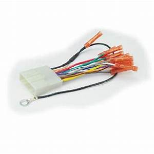 Scosche Nn04bcb  Versa Harness With Butt Wire Harness    Connector For Car Radio