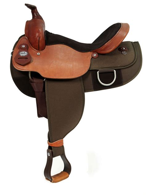 saddle draft horse fabtron trail 16inch saddles synthetic 15inch western supreme skirt square wide