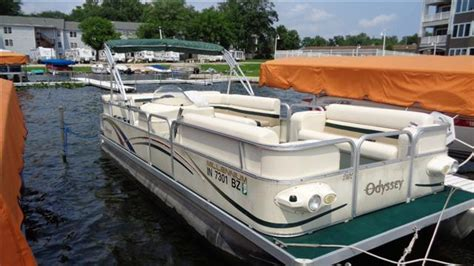 Pontoon Boats For Sale In Syracuse New York by Used 2004 Odyssey Pontoon 21 Millenium For Sale In