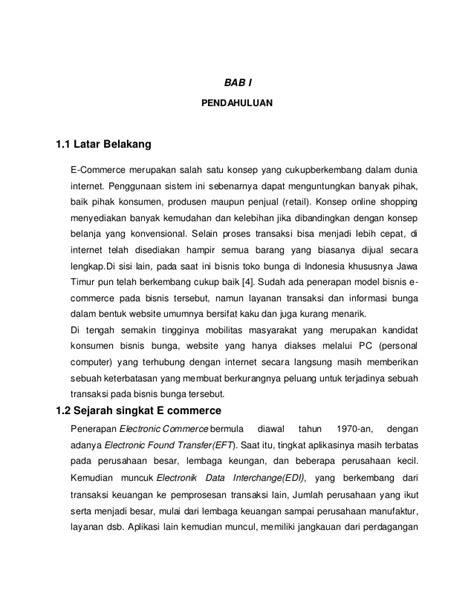 Pemanfaatan E commerce Dalam Berbisnis di Indonesia