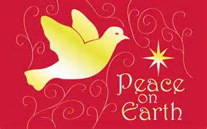 Christmas Dove Peace On Earth