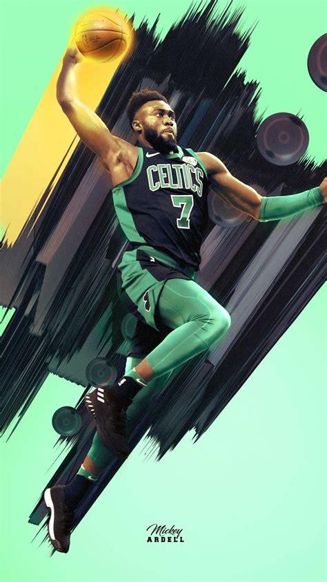 jaylen brown wallpaper nba basketball art nba art nba