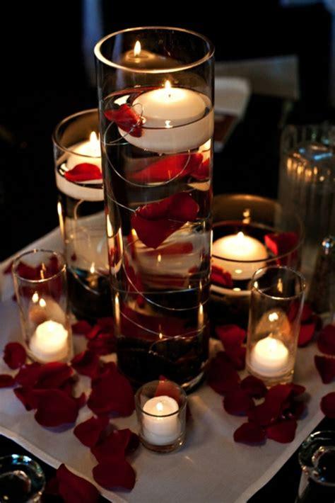 Blumen Hochzeit Dekorationsideenblumen Im Wasser Hochzeit Deko by Hochzeitsdeko F 252 R Tisch 65 Coole Ideen Archzine Net