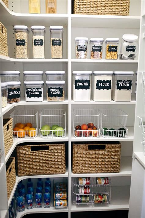 Kitchen Food Organization by How I Organized My Pantry O R G A N I Z E Pantry