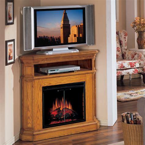 Furniture Marvelous Corner Fireplace Tv Stands Design