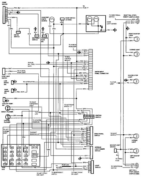 92 Chevy Wiring Diagram by электросхемы Chevrolet Caprice 1990 1994