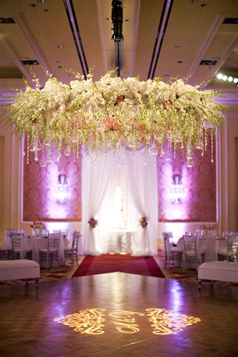 wedding flower chandelier unique wedding ideas and