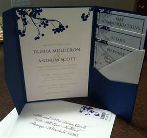 invites suite wedding blue and green cards and pockets With pocket wedding invitations vistaprint