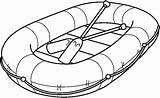 Raft Clipart Inflatable Rafting Coloring Clip Sketch Pages Transportation Wide Cliparts Preschool Pencil Boat Rafts Library Transporte Wikipedia Clipground Template sketch template