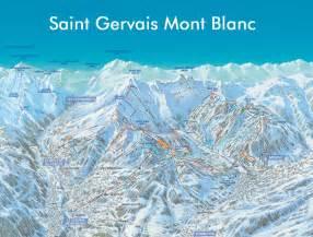 gervais mont blanc slopes ski map gervais mont blanc runs in the ski resort