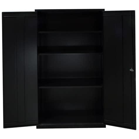 black storage cabinets used storage cabinet 4 shelves black national office