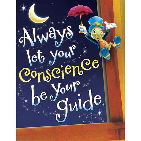 pinocchio conscience poster eureka school