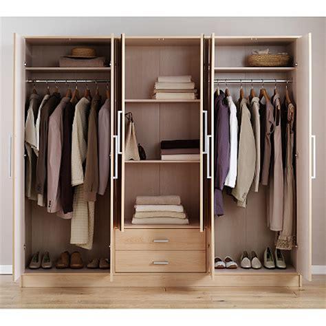 washington  door plain wardrobe beech effect