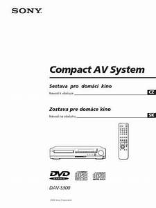 Sony Dav S300 Home Theater Download Manual For Free Now