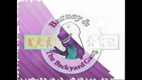 Barney The Backyard Gang Theme Song Remix Youtube