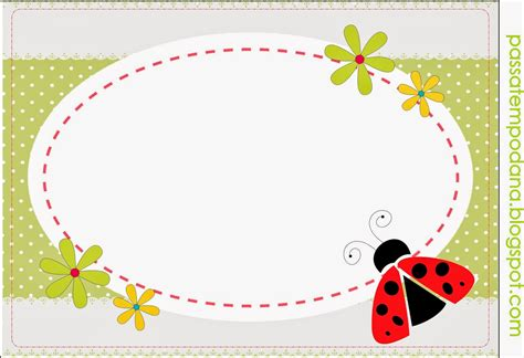 sweet ladybugs  printable candy bar labels