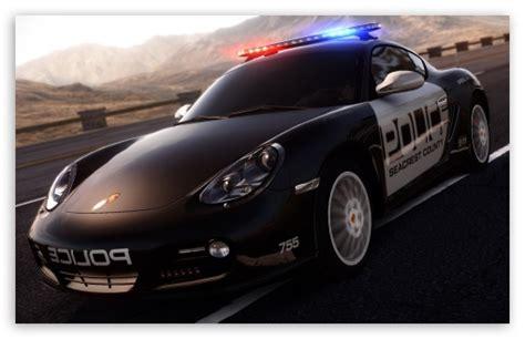 speed hot pursuit porsche police car  hd