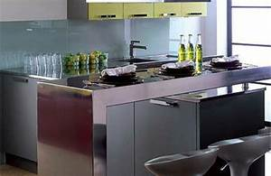 Petit Ilot Central Cuisine : comment amenager une petite cuisine ~ Teatrodelosmanantiales.com Idées de Décoration