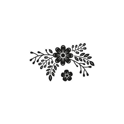 tampon scrapbooking fleurs sauvages personnalisez vos