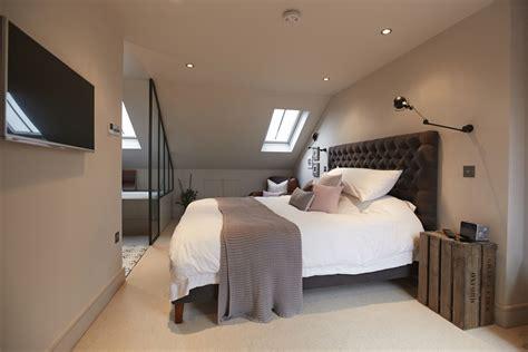 converting attic to master suite loft conversion bedroom google search home inspo