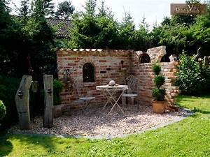 Alte Ziegelsteine Im Garten : ruinenmauer selber bauen altpreu ische backsteine ~ A.2002-acura-tl-radio.info Haus und Dekorationen
