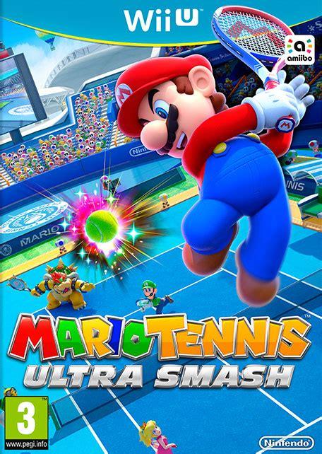 mario tennis ultra smash wii  games nintendo