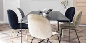 Salle a manger design nos plus belles photos marie claire for Meuble salle À manger avec chaise de salle a manger noir et blanc