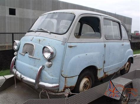 fiat multipla for sale 1958 fiat 600 multipla microcar price lowered to sell