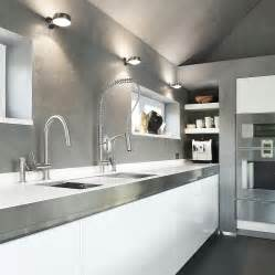 stainless faucets kitchen exquisite kitchen faucets merge italian design with aesthetics