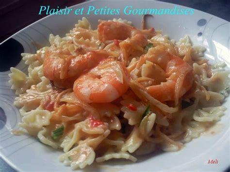 pates aux crevettes roses p 226 tes aux crevettes plaisir et petites gourmandises