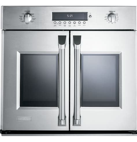 door wall oven zet1fhss monogram 30 quot professional door