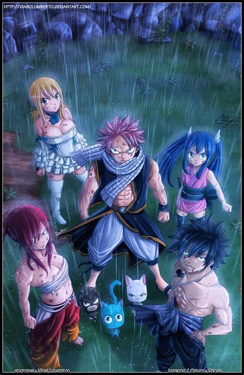 fairy tail dream team  diabolumberto  deviantart
