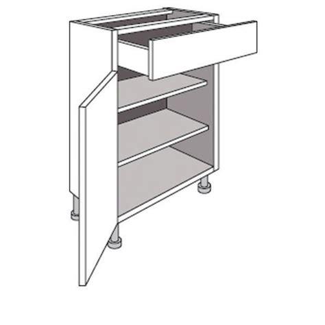 caisson cuisine lapeyre meuble de cuisine bas p 33 cm 1 porte 1 tiroir twist cuisine