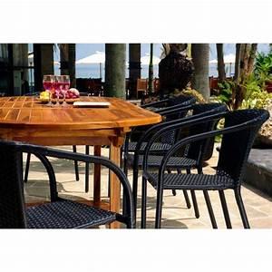 Table De Jardin Avec Rallonge : ensemble de jardin java bora avec table rallonge 240 cm ~ Farleysfitness.com Idées de Décoration