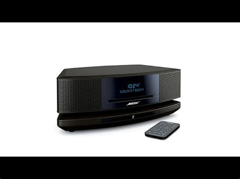 bose wave soundtouch  system iv youtube