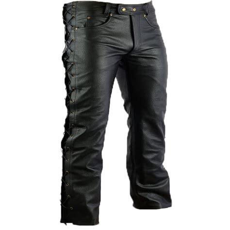 motorcycle pants motorcycle trousers biker pants leather chopper bikerhose