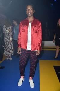 ASAP Rocky Photos Photos - Gucci - Front Row - Milan ...