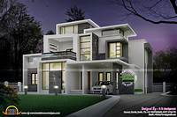 modern home design Grand contemporary home design - Kerala home design and ...