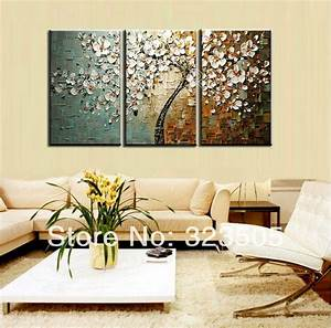 3 piece canvas wall art modern abstract decorative wall With kitchen colors with white cabinets with cherry blossom wall art set 3
