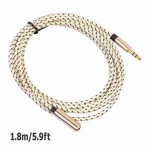 Headphone Extension Cable 3 5mm Jack Stereo Aux Audio