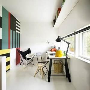 Peinture Pour Lambris : peindre du lambris mur plusieurs couleurs pour deco salon ~ Melissatoandfro.com Idées de Décoration