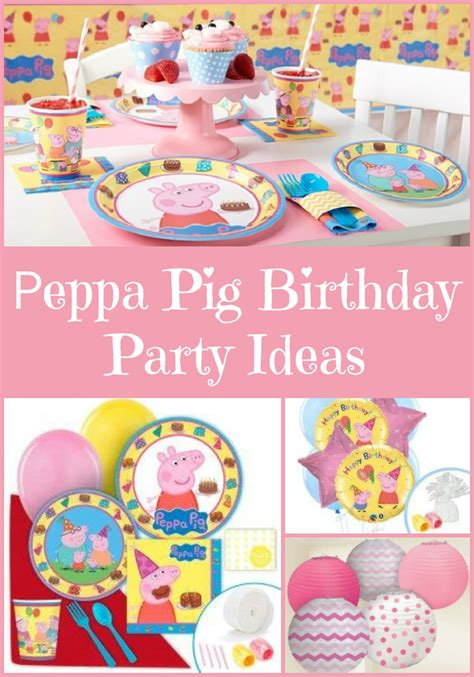 peppa pig birthday ideas cleverly me south florida lifestyle