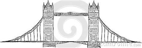 Tower Bridge Illustration Stock Illustration - Image: 44758909