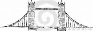 London Bridge Dessin : illustration de pont de tour illustration stock image 44758909 ~ Dode.kayakingforconservation.com Idées de Décoration
