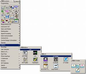 Using The Twitter Toolkit In Labview