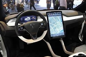 New Interior Image Of Tesla Model 3 Surfaces